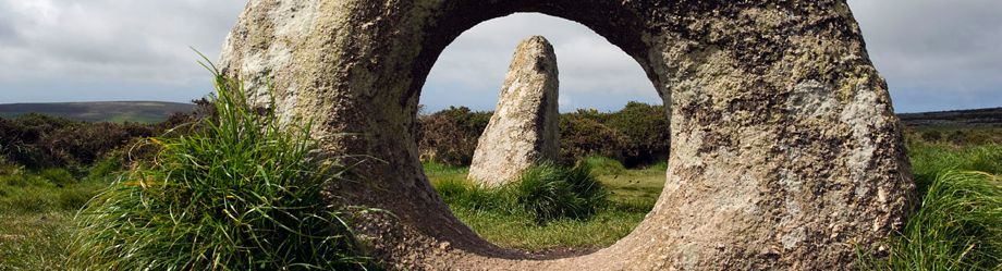 Men-an-Tol Megalithic stone monument Cornwall, England, Great Britain. Image shot 2009. Exact date unknown.